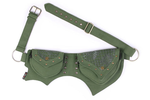 THE ASSIA Lace Front Pocket, Green