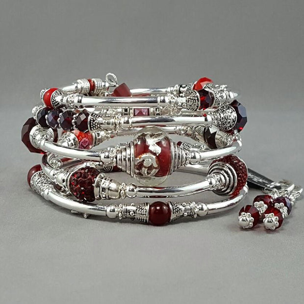 Ensemble bracelet serpentin Marie-France Carrière