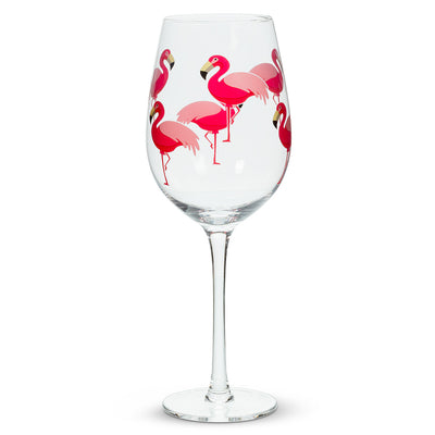 Coupe de Vin Flamant Rose