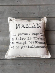 Coussin Maman