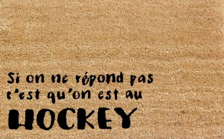 Tapis Hockey
