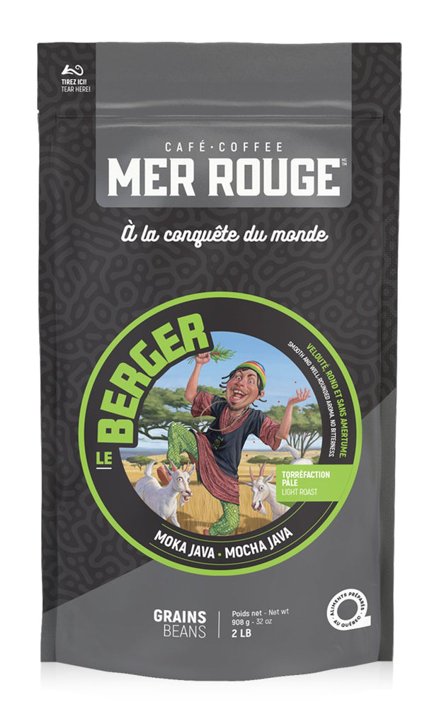 Sac De Café 2 lbs en grains Le Berger