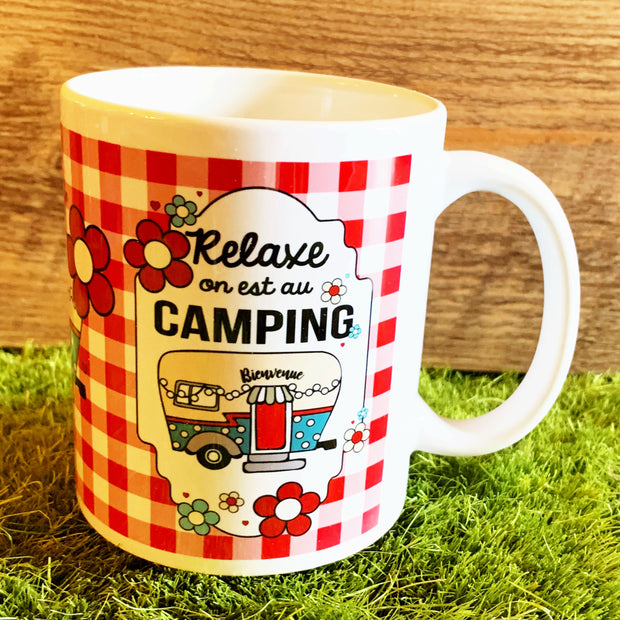 Tasse Relaxe on est au camping