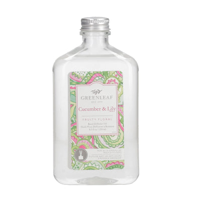 Cucumber Lily Huile Pour Diffuseur