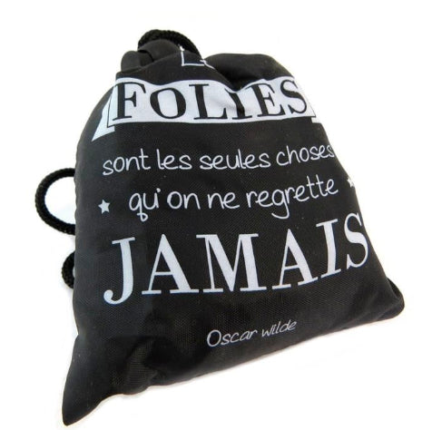Sac pliable citation