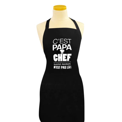 Tablier Papa chef