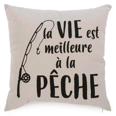Coussin Pêche
