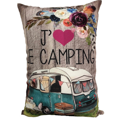 Coussin J'aime Le Camping