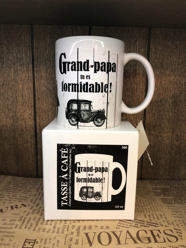 Tasse Grand-Papa Tu Es Formidable