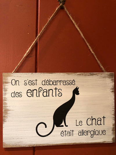 Affiche Chat