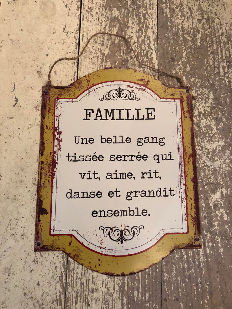 Affiche Famille