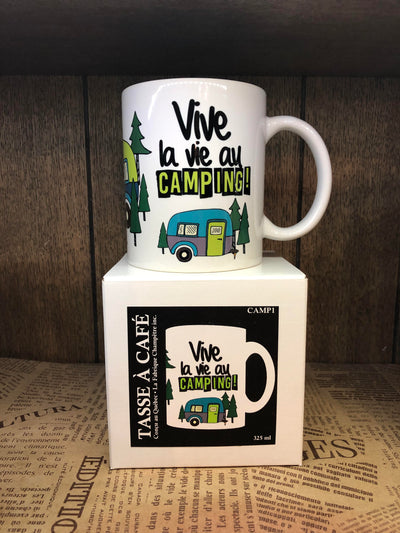 Tasse Camping- Vive Le Camping