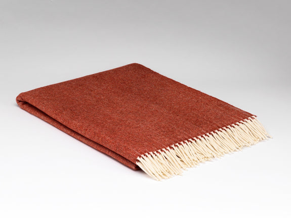 Tabasco Herringbone Supersoft Throw