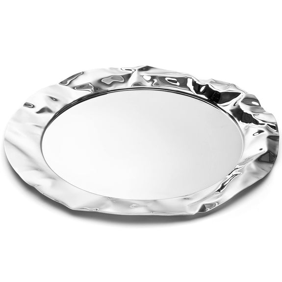 Foix Tray, Mirror Polished Stainless Steel