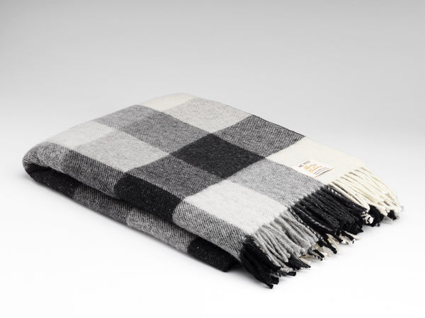 Heritage Grey Throw