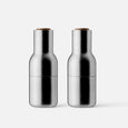 Bottle Grinders - Brushed Stainless Steel