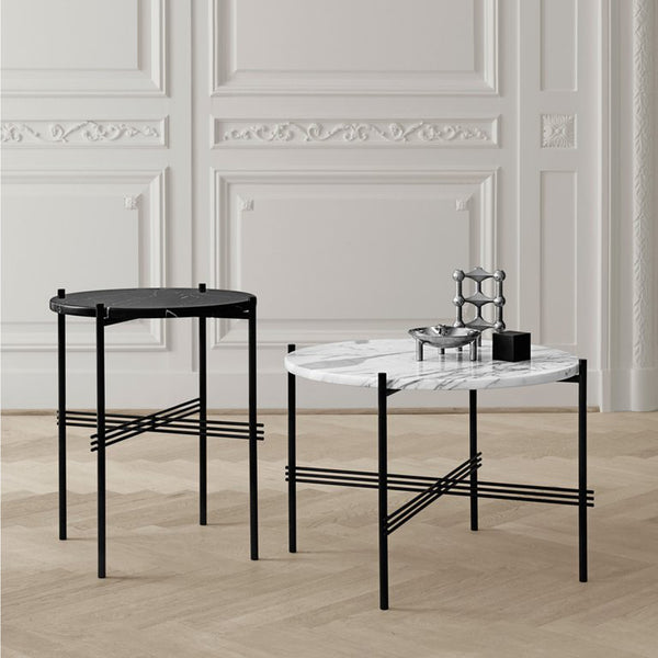 TS Coffee Table ø55cm, Black Base
