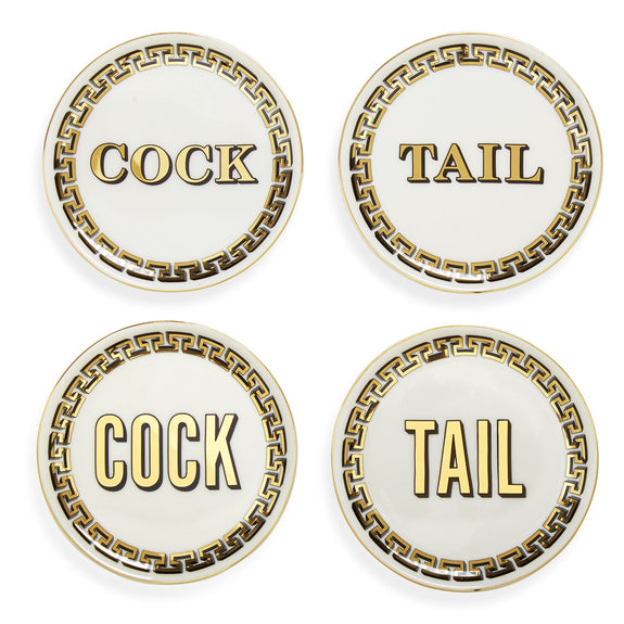 Cock/Tail Coasters