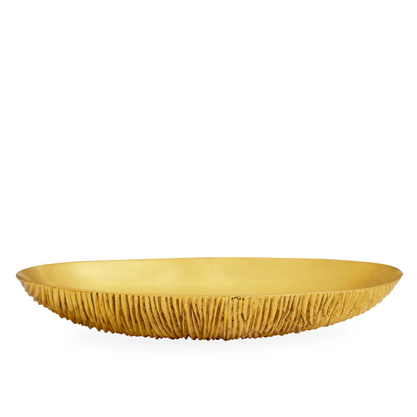 Brutalist Brass Bowl, Large