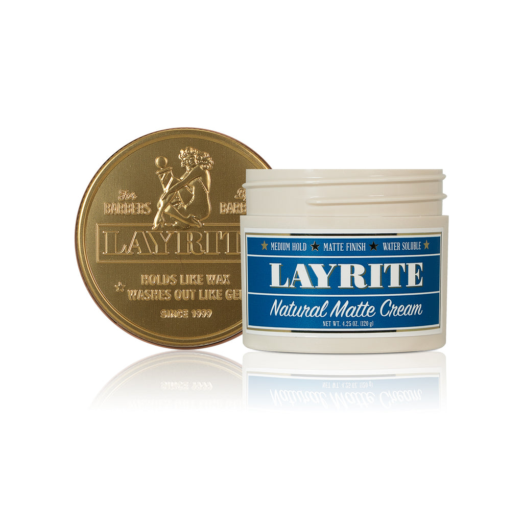 Layrite - Natural Matte Cream 4.25 oz.
