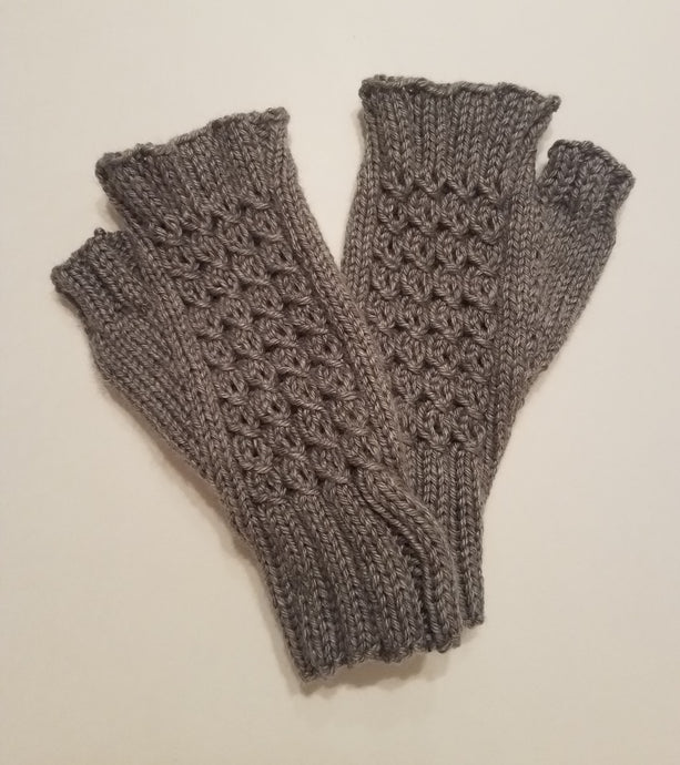 Fingerless Gloves, Wristers, Fingers-Free Gloves, Winter Gloves, Women's Gloves