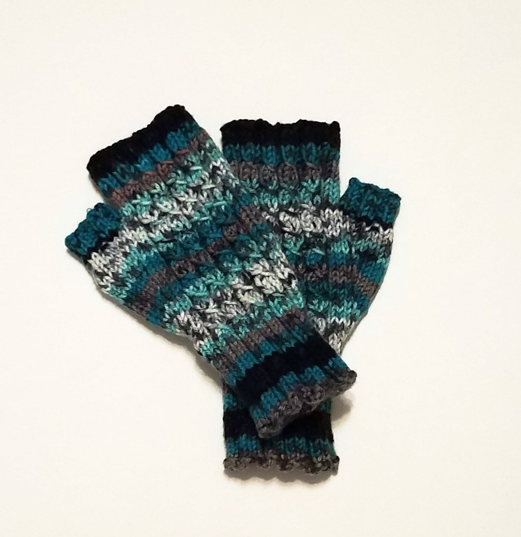 Fingerless Gloves, Wristers, Fingers-Free Gloves, Winter Gloves