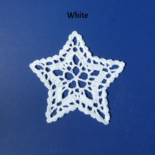 Star Ornament, Crocheted Star, Lace Star, Crocheted Ornament
