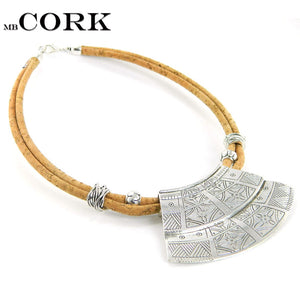 Necklace Mb Cork, Crafts Sector Style