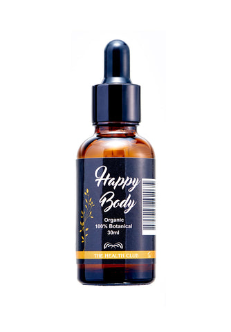 HappyBody 30ml (Meridian Massager) + FREE Ox Horn Massage Tool