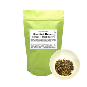 Soothing Throat Tea Herbal Blend (Caffeine Free)