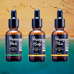 Happy Summer Skin, Hair and Face bundle - thehealthclub