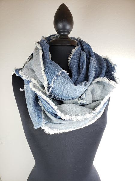 Denim Dreams Infinity Scarf # 5