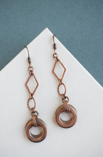 This Woman's Work #5 in Copper + Steel