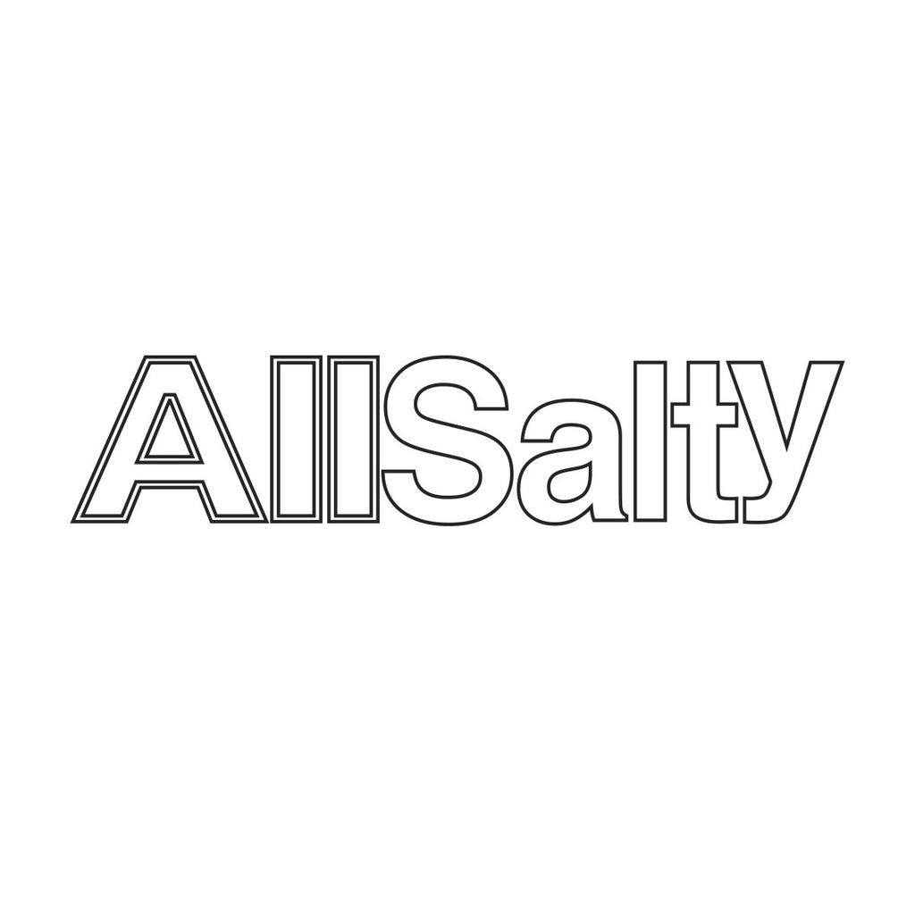 All Salty Die Cut Sticker