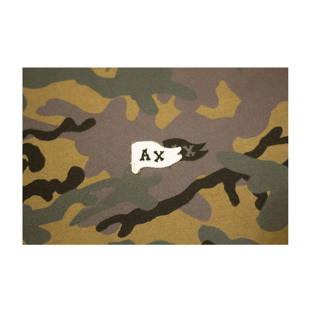 M's Flag Embroider Tee