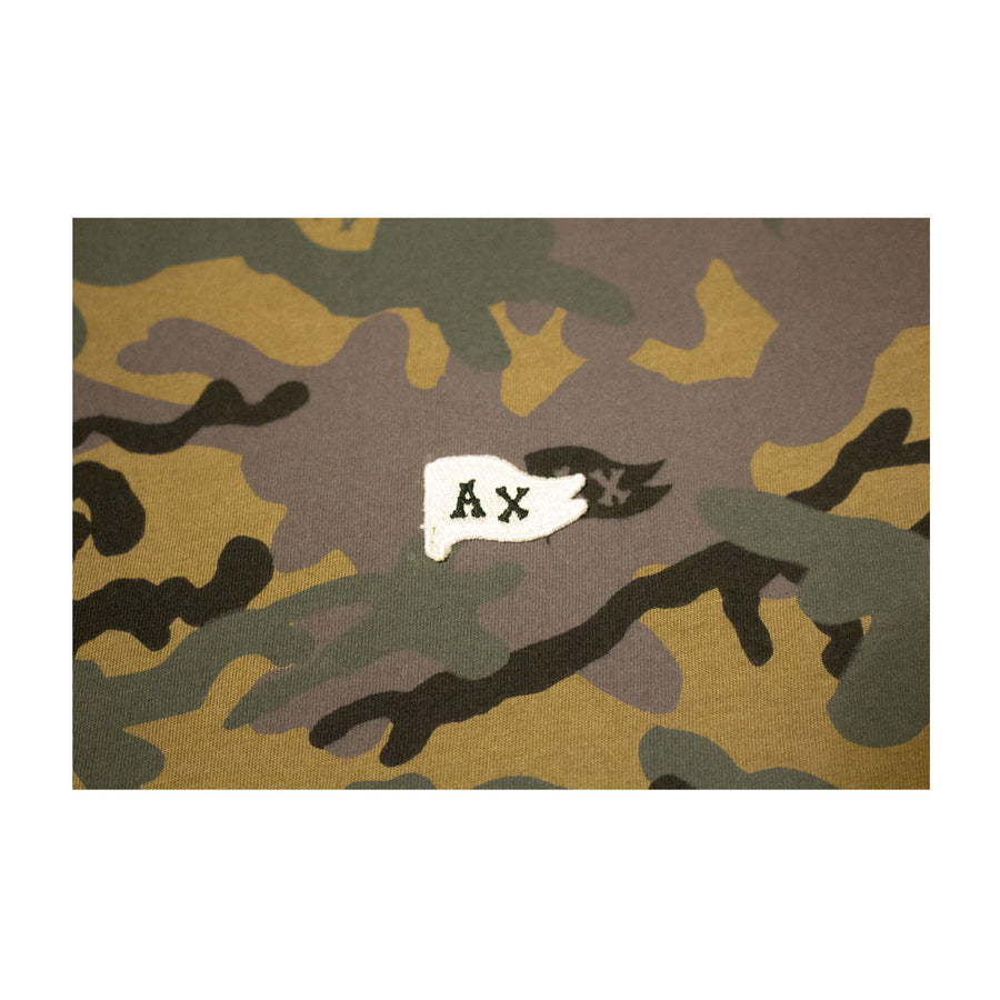 W's Flag Embroider Tee