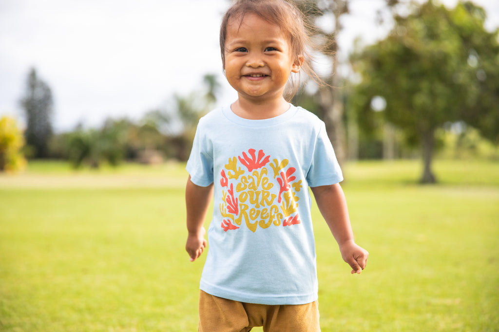 Kids Save Our Reefs Tee