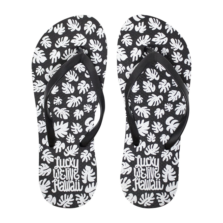 LWLH Monstera Slippers