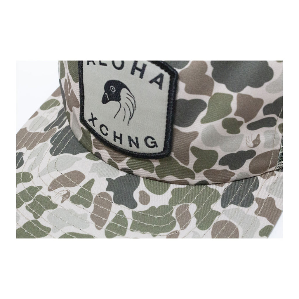 Nene Camo Unstructured Trucker