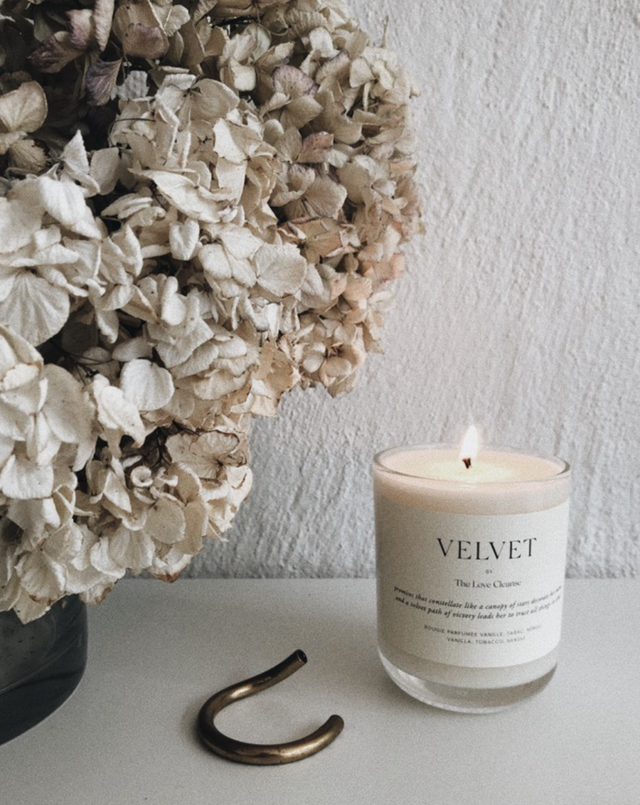 VELVET SOY CANDLE