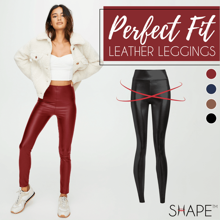 Perfect Fit Leather Leggings - Imoost