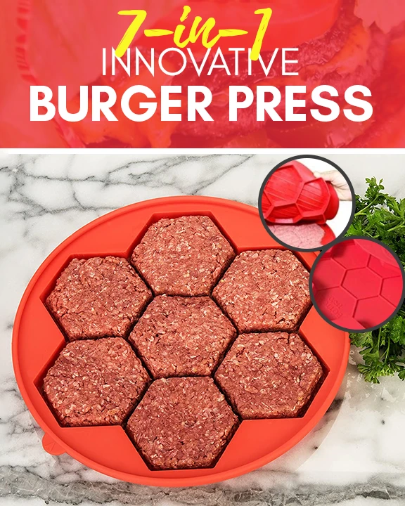 7 In 1 Innovative Burger Press - Imoost