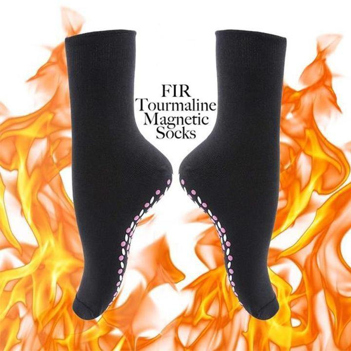 FIR Tourmaline Magnetic Socks - Imoost