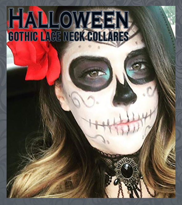 Halloween Fashion Gothic Chokers - Imoost