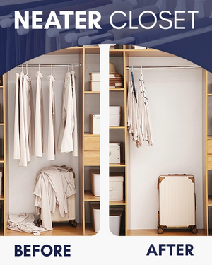 Collapsible Pants Organizing Rack - Imoost