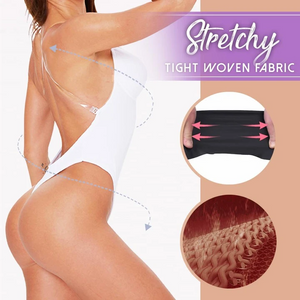Backless Body Shaper Bra - Imoost