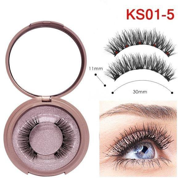 Premium Magnetic Eyelashes and Eyeliner Set - Imoost