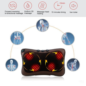 Electric Head Neck Massager Pillow - Imoost