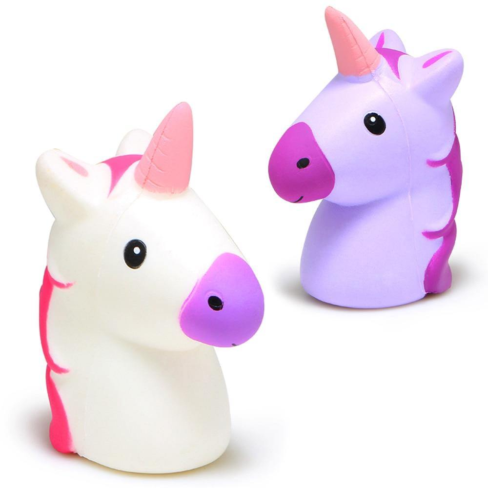 Unicorn Head Squishy Toy - Imoost