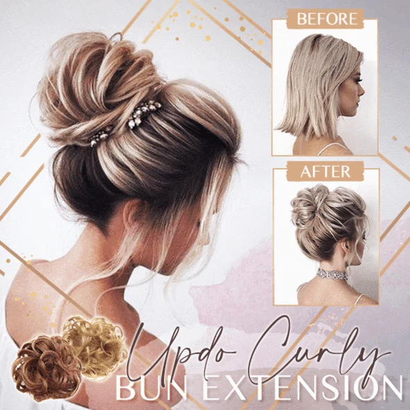 Updo Curly Bun Extension (50% OFF) - Imoost